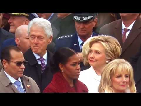 Hilary Clinton Catches Bill Clinton Checking Out Ivanka Trump at Presidential Inauguration