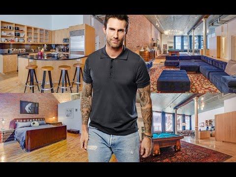 Inside Adam Levine's Swanky $5.4 Million NYC Penthouse!
