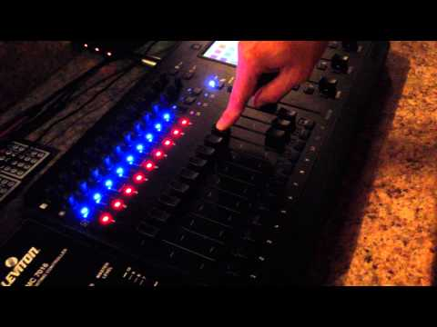 JANDS Stage CL console setup