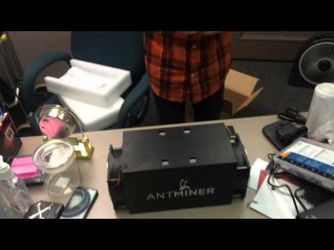 Antminer S3 Unboxing And Setup