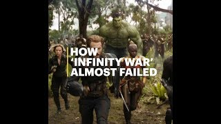 How 'Infinity War' Almost Failed