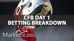 Marketology | College Football 2017 Season Day 1 Betting Breakdown