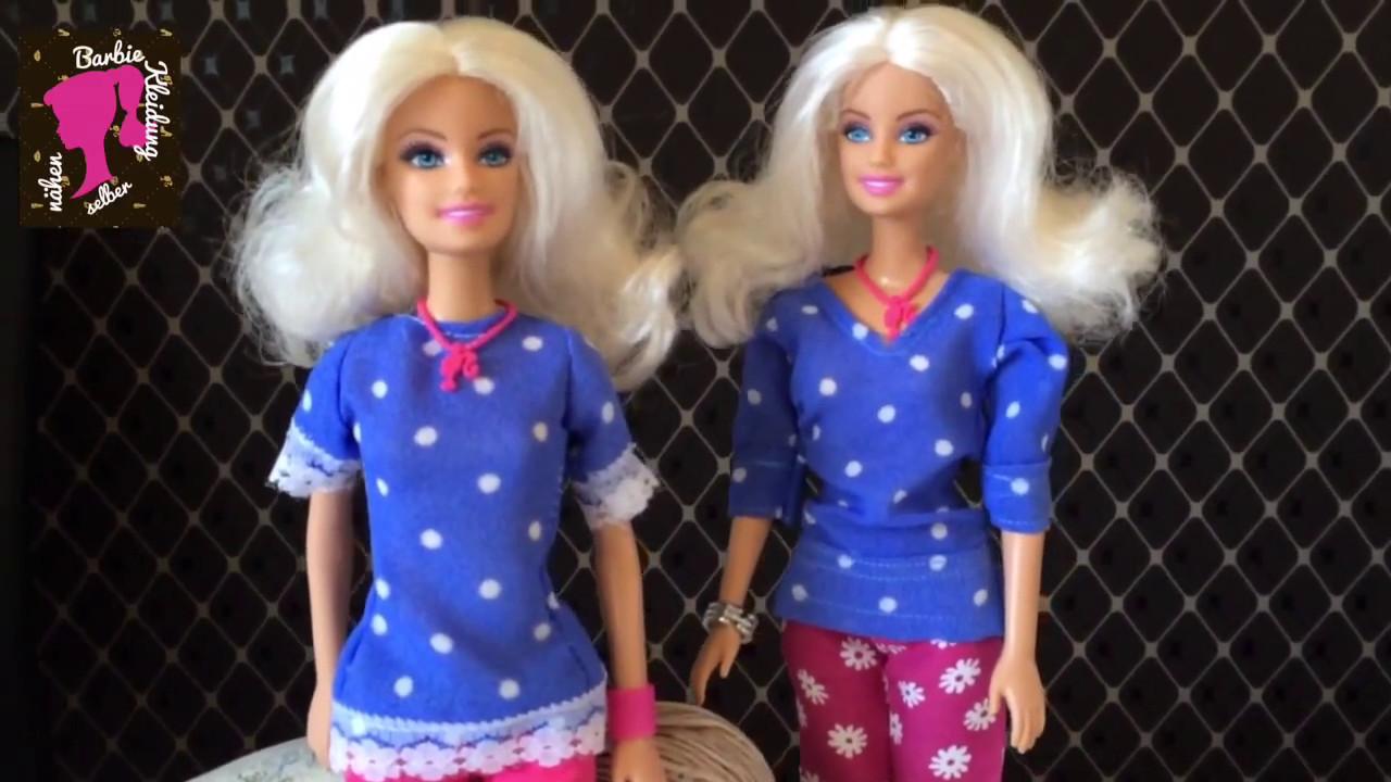 Barbie Bluse Selber Nähen Youtube