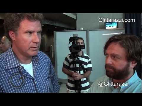 Zach Galifianakis & Will Ferrell Talk Mitt Romney & President Obama At 'The Campaign' Premiere