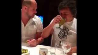 Как пить самогон. Приколы:)) Видео #2