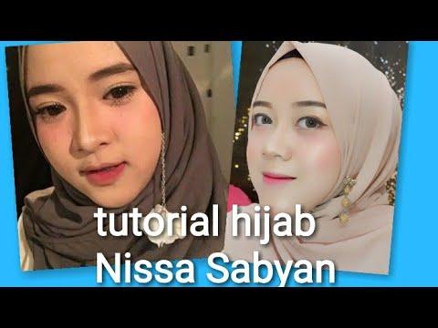 3 Tutorial Hijab Tersimpel Nissa Sabyan Youtube