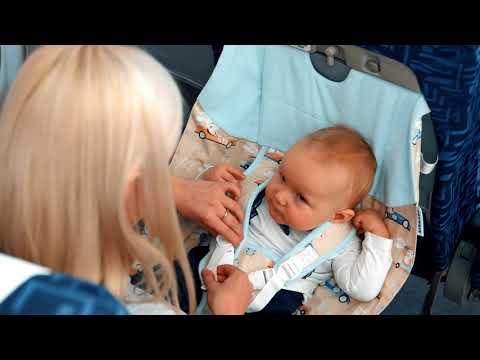 Гамак  в самолет Перелет с младенцем  Airbaby3в1  Air-baby.ru