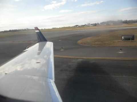US air CRJ200 Takeoff
