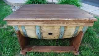Bauer Barrels - Coolest Barrel Tables In Burlington