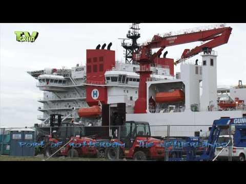 Heerema's Aegir - Deepwater Construction Vessel