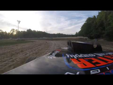 Deerfield Raceway - LHB Motorsports 1B - Heat Race Win 7/23/16