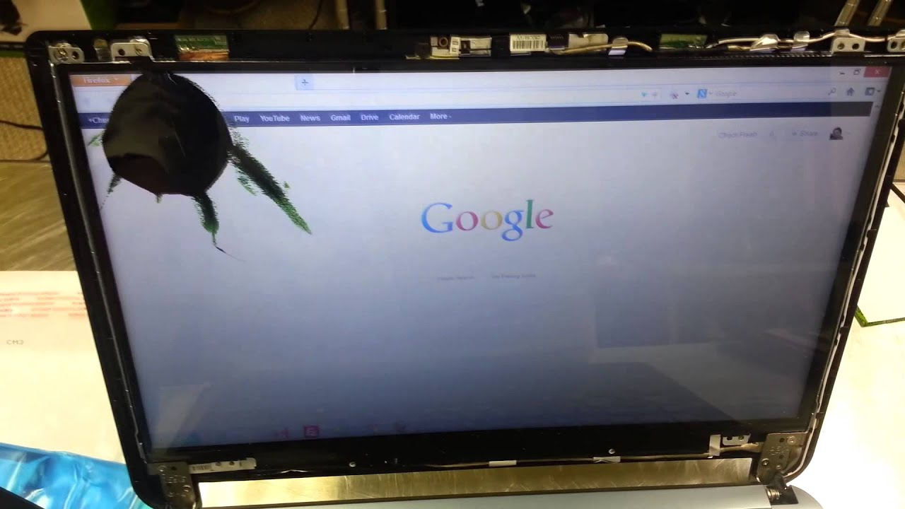 fixing acer laptop screen
