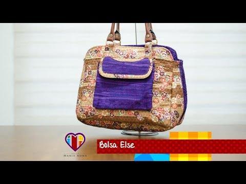 3edf5abc2 Vídeo de bolsa de tecido Else - Maria Adna Ateliê - Bolsas de tecido -  Fabric bag
