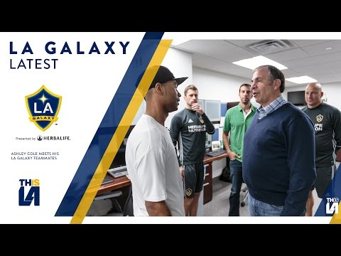WATCH: Ashley Cole's meets his LA Galaxy teammates | GALAXY LATEST