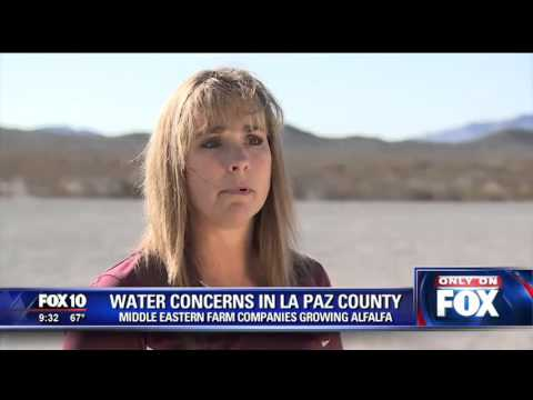 La Paz County at odds with Saudi Arabian farm
