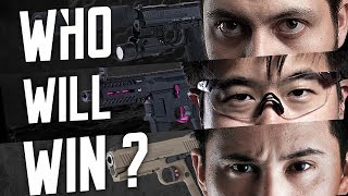 Tim, Marck & Gambit's Custom Pistol Face-Off – RedWolf Airsoft RWTV