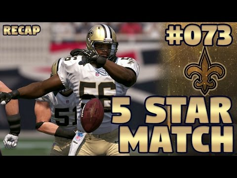 Saints @ Patriots RECAP (S2,G2) | Madden NFL 17 New Orleans Saints Franchise Ep. 73