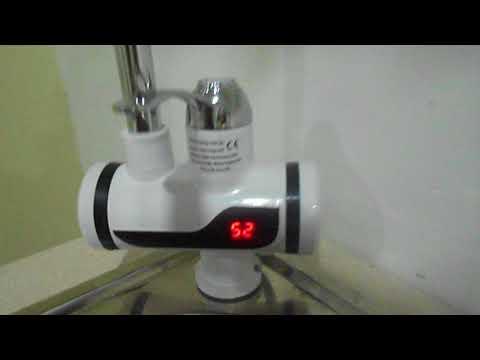 Обзор и тестирование водонагревающего крана для проточной воды DELIMANO