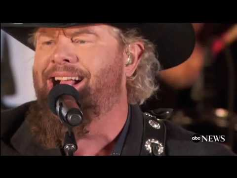 """""""Toby Keith"""" At Donald Trump's Pre-Inauguration Concert"""
