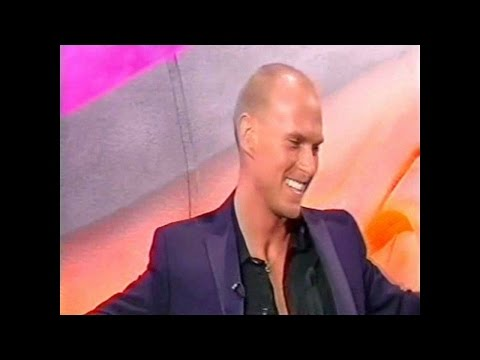 Luke Goss - Interview and playing the drums on Brian Conley for Blade II.