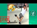 TRY NOT TO LAUGH  Funny Best Fails Vines Compilation 2017   You Laugh  You Lose    SAK