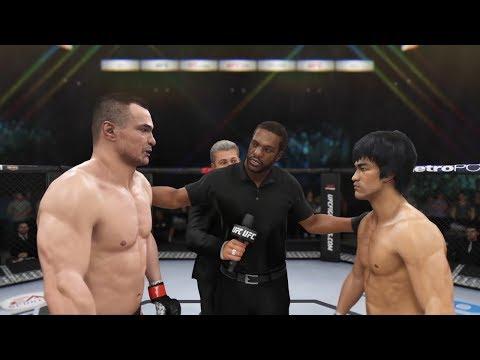 Mirko Cro Cop vs. Bruce Lee EA sports UFC 3  CPU vs. CPU