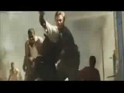 Rebel fight scene from Blood Diamond