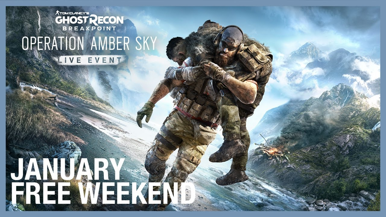 Tom Clancy's Ghost Recon Breakpoint: Free Weekend January 21-24 | Trailer | Ubisoft