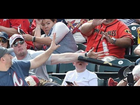 Hero Dad Saves Son's Head From Flying Baseball Bat
