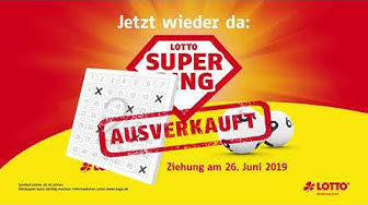 Lotto-Superding 2019 – Ausverkauft