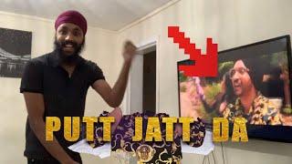 Putt Jatt Da | Diljit Dosanjh | Reaction | Punjabi Vlog