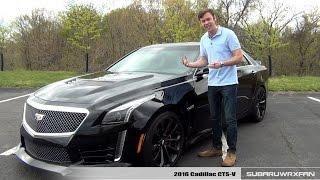 Review 2016 Cadillac CTS V