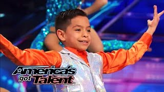 Baila Conmigo: Speedy Colombian Salsa Dancers Shake Their Stuff - America's Got Talent 2014
