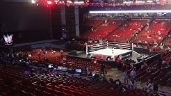 Finding my Monday Night RAW Seats! (Special Thanks WWE!!)