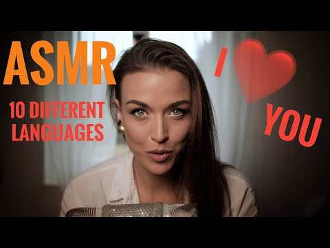 "ASMR Gina Carla 💘 Whispering ""I LOVE YOU"" 10 Different Languages!"