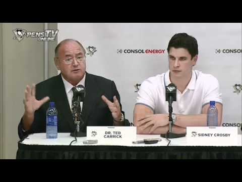 Sept 7 2011 Sidney Crosby Press Conference