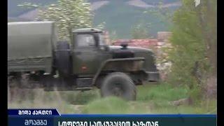 ექსკლუზიური კადრები საოკუპაციო ზოლიდან - როგორ ძარცვავენ რუსი სამხედროები მოსახლეობას