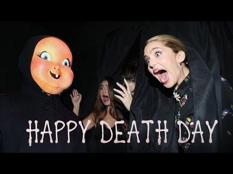 The Cast of Happy Death Day at HHN 2017