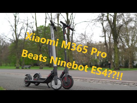 Xiaomi M365 Pro Is MORE Powerful Than Ninebot ES4? World's First Review Between ES4 And Xiaomi Pro
