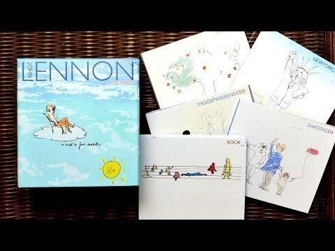 John Lennon Anthology - 4 CD box set - 1998 - Unboxing