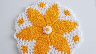 Süreyya Çiçeği Lif Yapımı ❤  ( Süreyya Ertem Tasarımı)