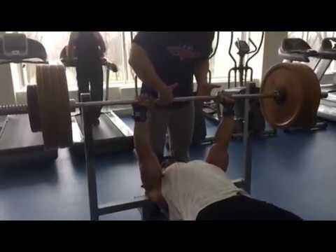 bench press 160 KG 1 Rep Prince Nicaragua Phillippe Van Dyk