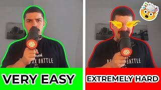 Beatbox Skills: from VERY EASY to EXTREMELY HARD