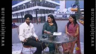 Arshdeep Singh LIVE Interview on Doordarshan & DD Punjabi in Shaunk Awale INJOY LIVE TV