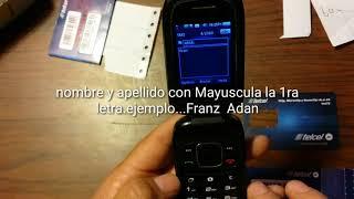 Activar Chip Telcel  en el 2018