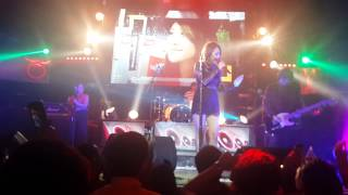 Bunga Citra Lestari Cover Sam Smith - I Am Not The Only One  Live At Liquid Cafe Jogja 12 Juni 2015