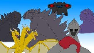 Godzilla: Destroy All Monsters | Part 2 | Animation