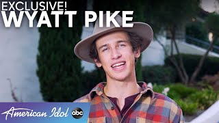 Unbelievable! Wyatt Pike Reflects On His TOTALLY Unique Audition Experience - American Idol 2021