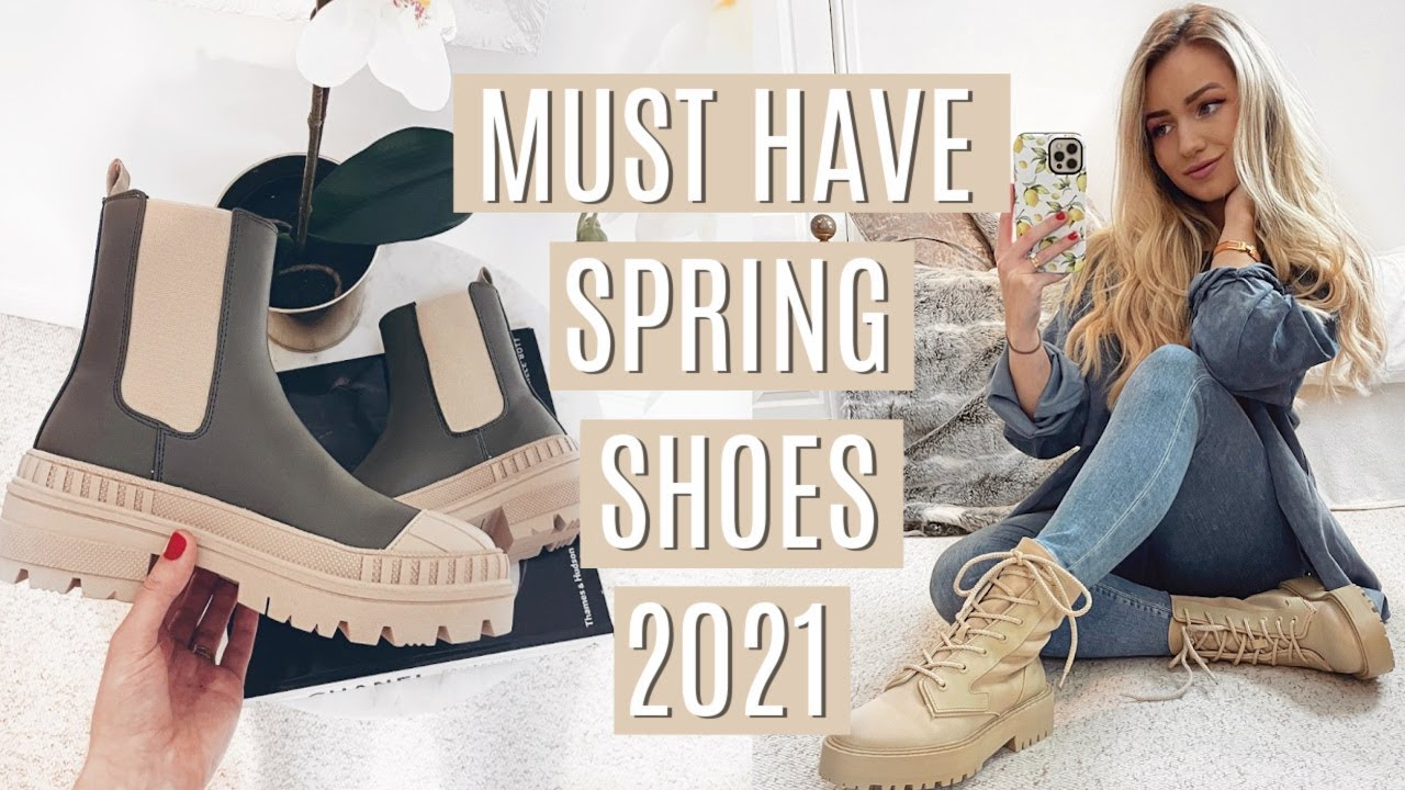 MUST HAVE SPRING SHOES & SHOE TRENDS 6 / Chunky boots, espadrilles,  sandals