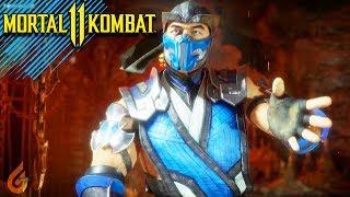 """JE DÉCHIRE DES JOUEURS EN LIGNE avec """"SUB-ZERO"""" Mortal Kombat 11"""